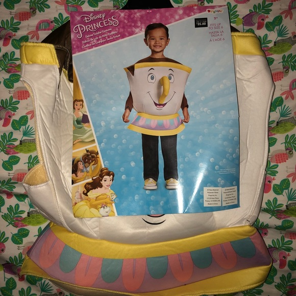 Disney Costumes Nwt Beauty And The Beast Chip Costume Poshmark